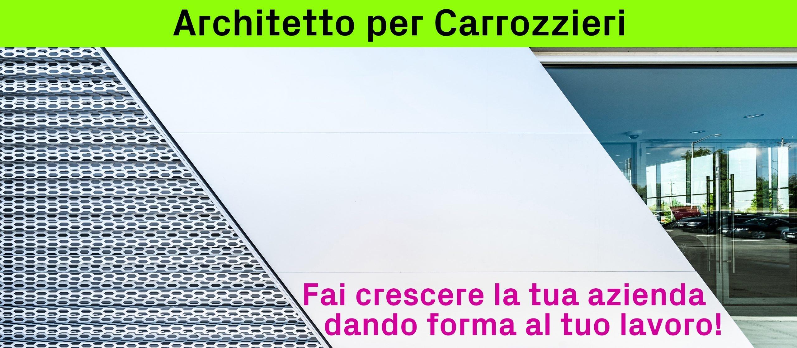 Architetto per Carrozzieri